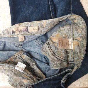 PAIGE Jeans - Paige Jeans Rozbury Cropped Ankle Pants